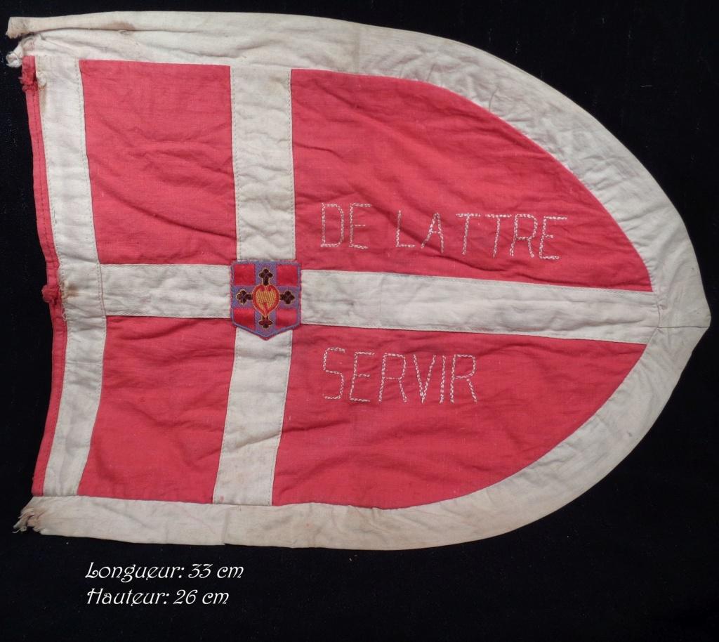 Marechal De Lattre de Tassigny. Fanion scout Dsc02312