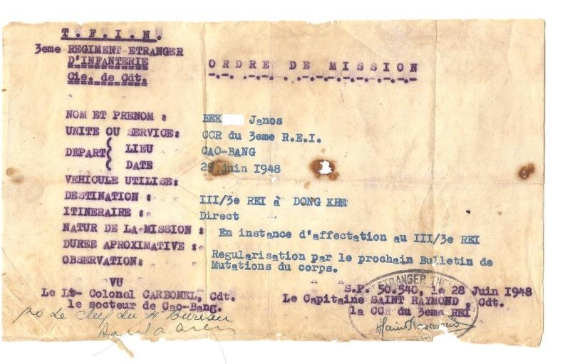Quelques vieux documents du paternel. 313