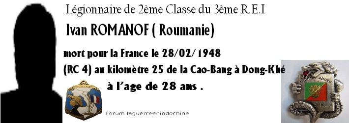 Légionnaire Yvan ROMANOV 3ème R.E.I  1948 Forum_10