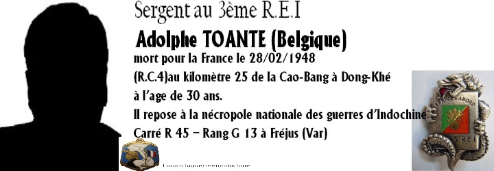 Sergent Adolphe TOUANTE 3ème R.E.I 1948 Forum_13
