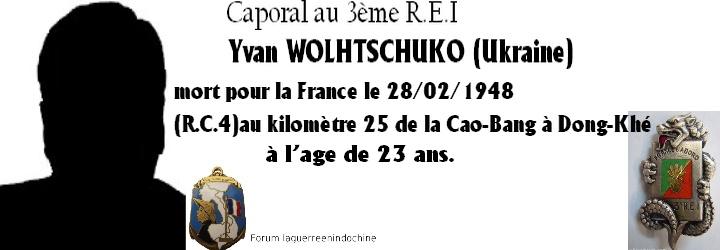 Caporal Yvan WOLHTSCHUKO 3ème R.E.I 1948 Forum_14
