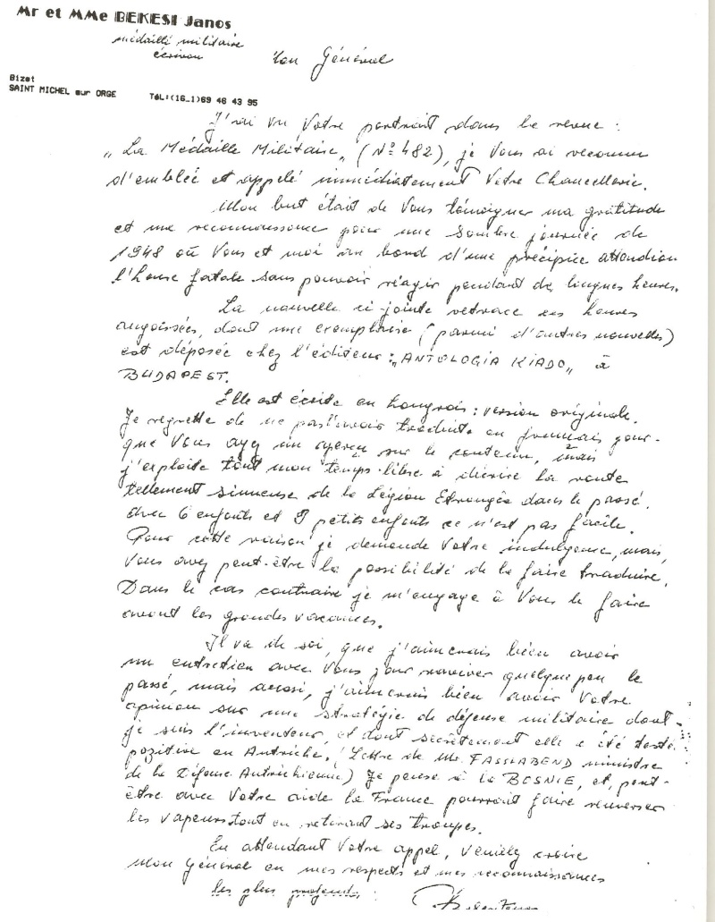 lettres Indochine 1954. 1955 Lettre11