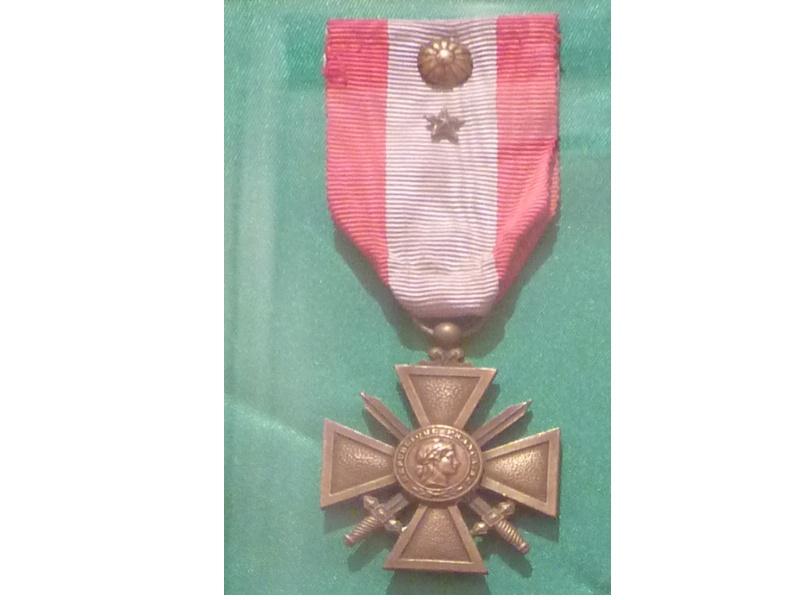 Croix de Guerre TOE Medail10