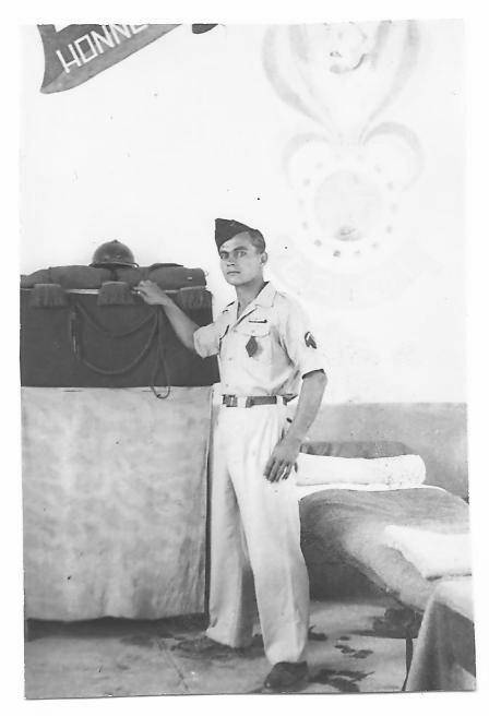 Calot de la légion étrangère (bonnet de police) Ordre_85