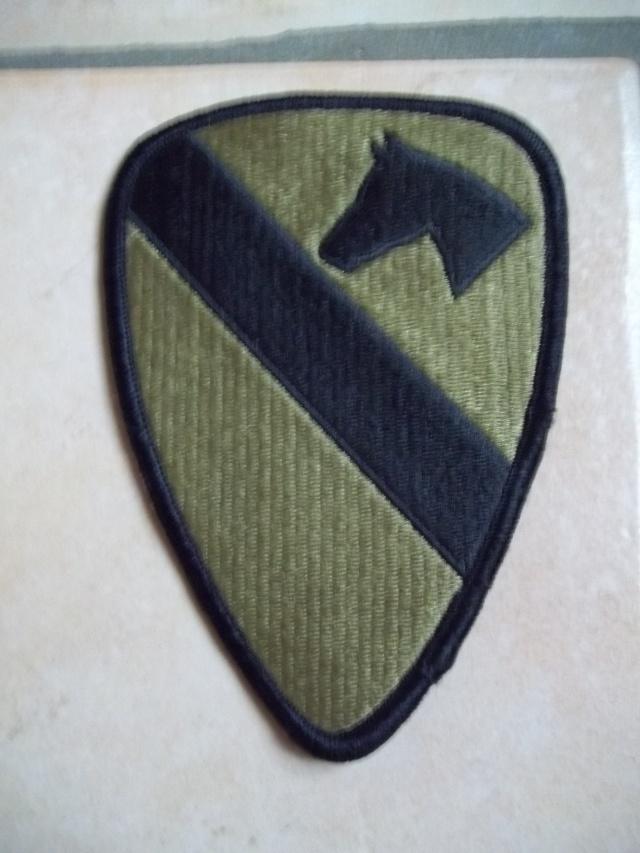 Ecusson de la 1st Cavalry Division 100_2029