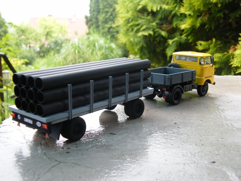 Eigenbau Schwerlastanhänger TL 20 und TL 12 Straßenwalze DW 10 und andere Fahrzeuge in 1 43 Dscf2119
