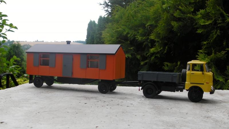 Eigenbau Schwerlastanhänger TL 20 und TL 12 Straßenwalze DW 10 und andere Fahrzeuge in 1 43 Sany0010