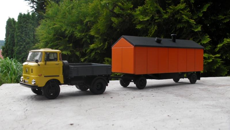 Eigenbau Schwerlastanhänger TL 20 und TL 12 Straßenwalze DW 10 und andere Fahrzeuge in 1 43 Sany0013