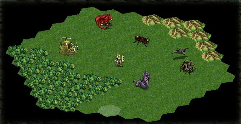 Pixel Art pour un RPG Med-Fan sur navigateur. Platea10