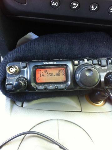 Vidéo ISS RX FT817 + Vidéo SSTV Droidsstv avec tablette  57479610