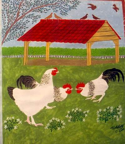 la poule Bourbourg Bourbo12