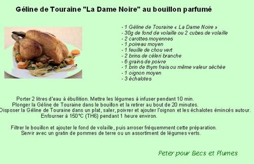 la Géline de Touraine Recett19