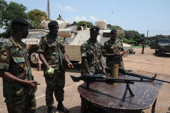 Armée Ghanéene/Ghana Armed Forces 22984910