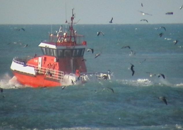 Sauvetage maritime au Maroc / service de recherche et de sauvetage  Bateau10