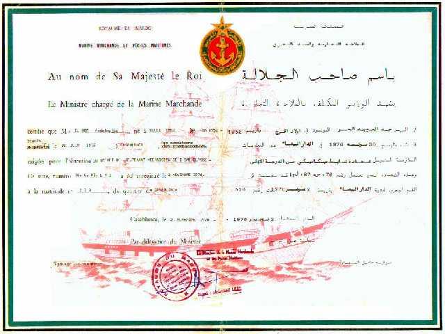 Institut Supérieur d'Etudes Maritimes (ISEM) Diplom10