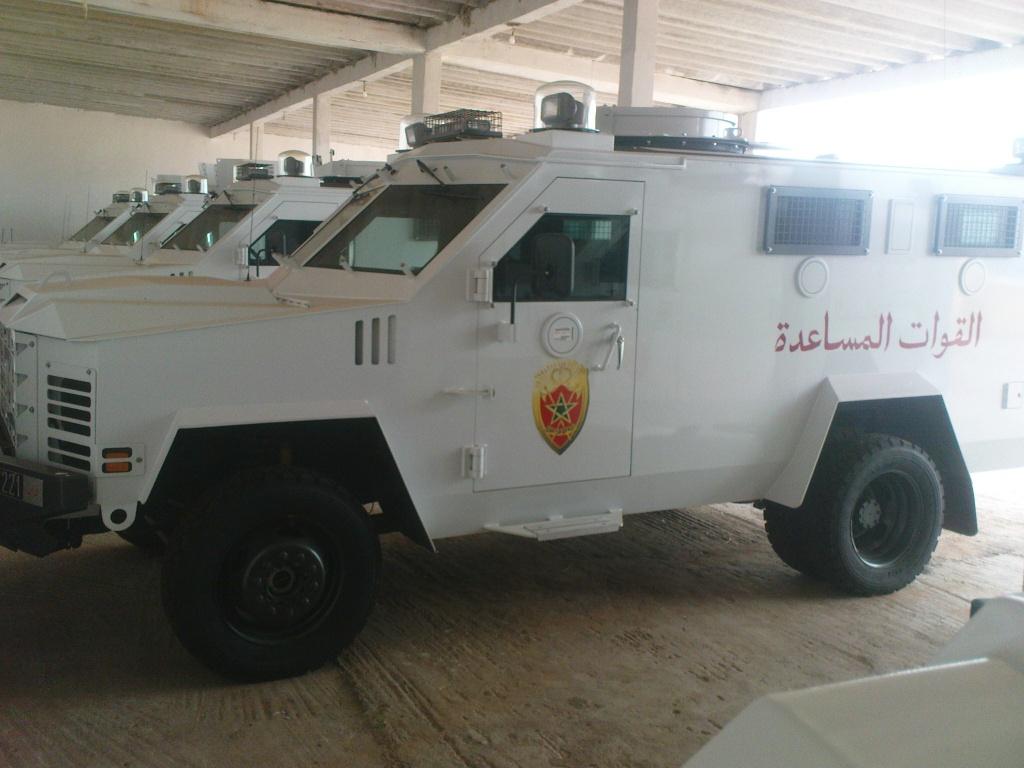 المغرب تسلم 88 عربة مدرعة bearcat 4x4 للقوات المغربية الحدودية. Dsc00412