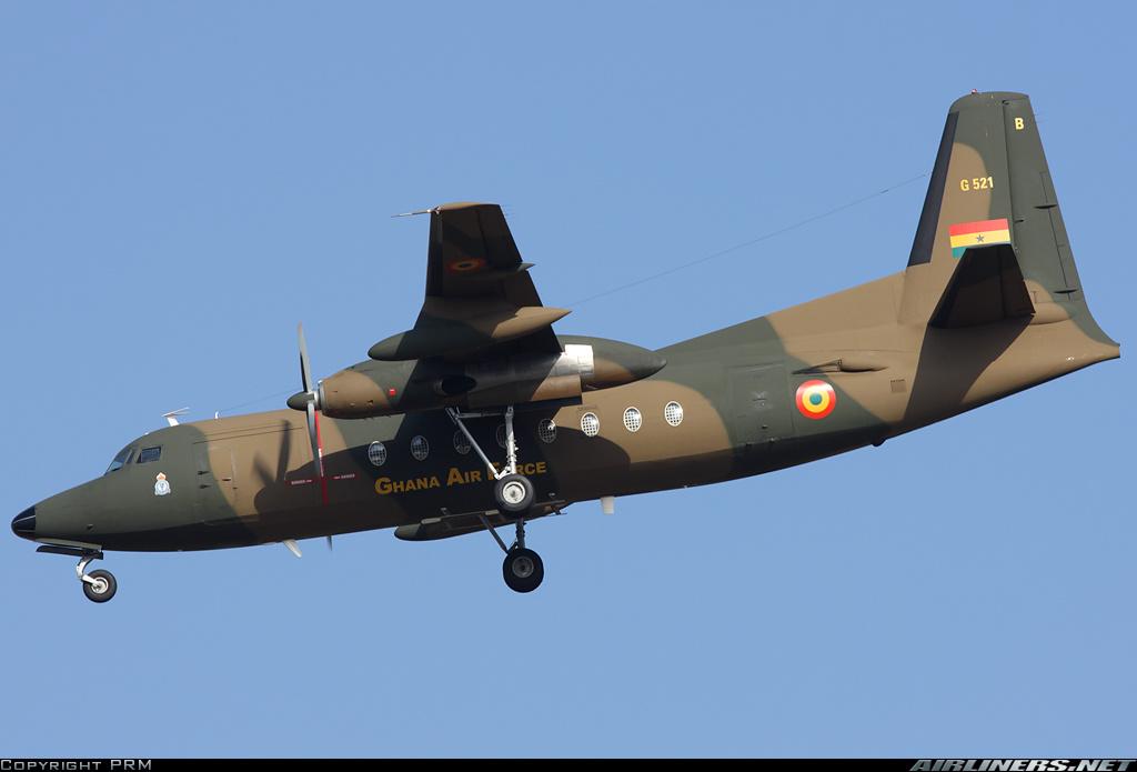 Armée Ghanéene/Ghana Armed Forces Fokker12