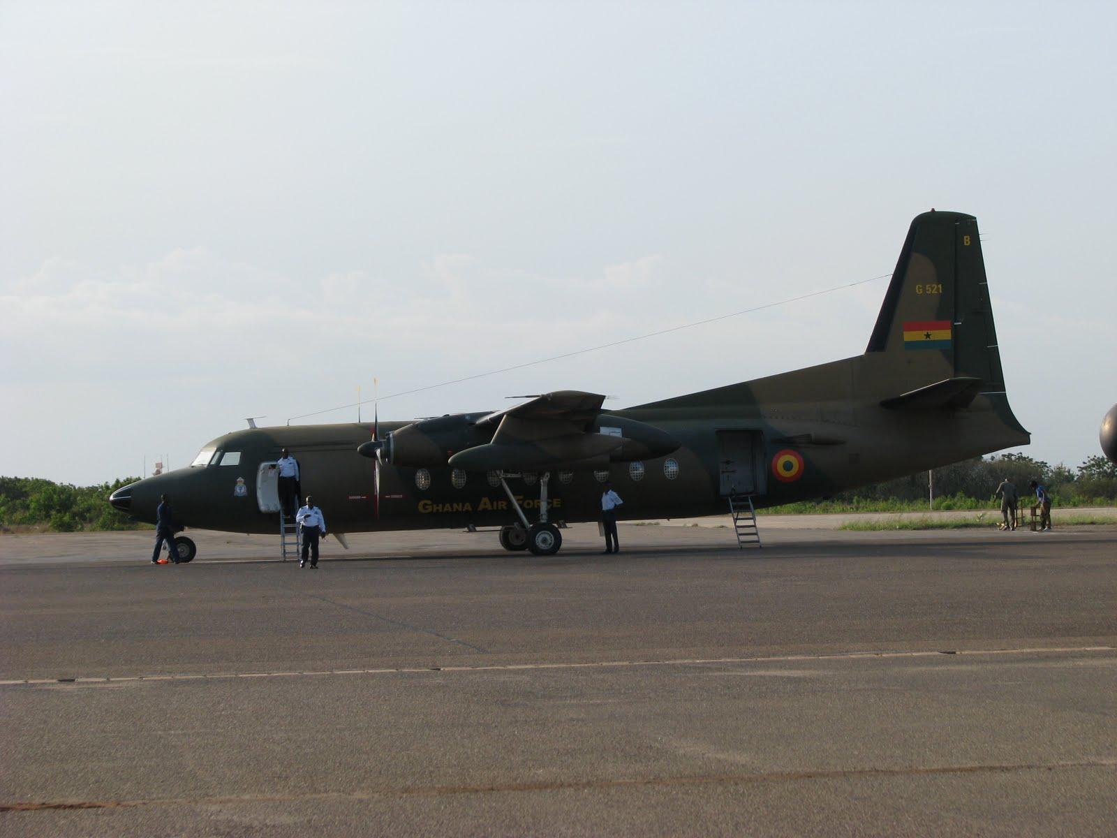 Armée Ghanéene/Ghana Armed Forces Fokker13