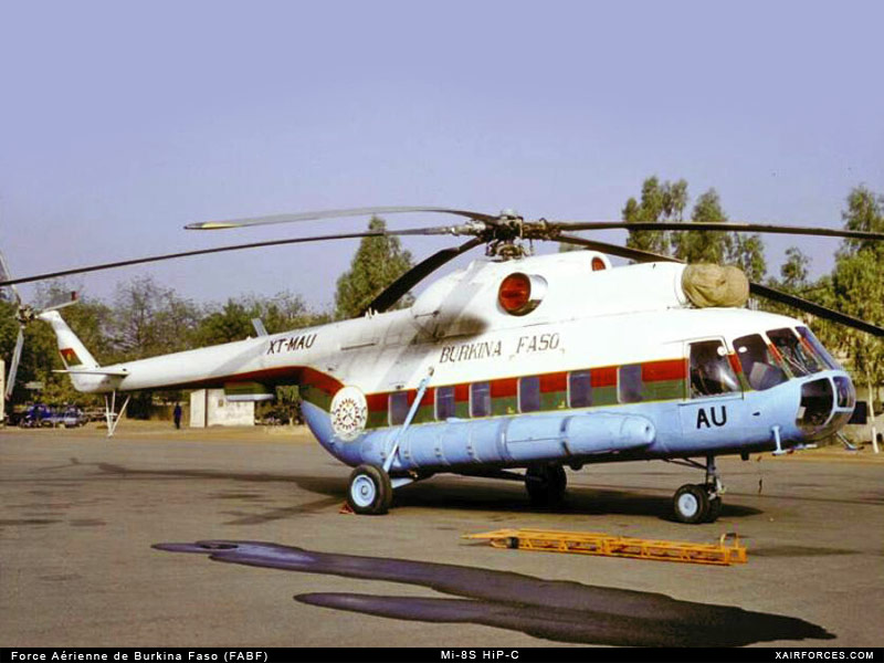 Armée nationale Burkinabé / Military of Burkina Faso Mi-8_h10