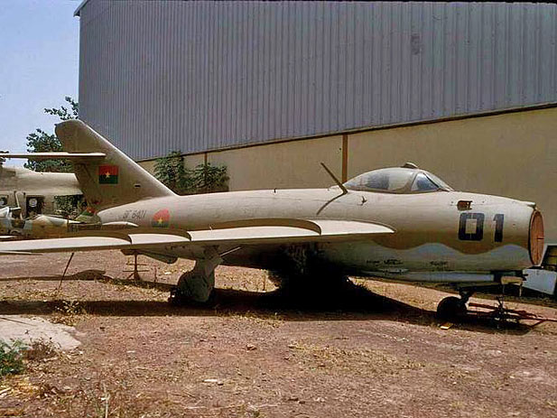 Armée nationale Burkinabé / Military of Burkina Faso Mig-1710