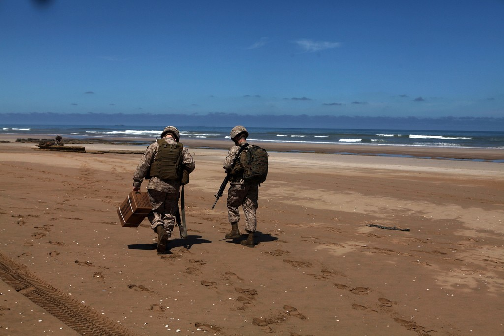 African Lion 2012 - Amphibious Operations Morocc24