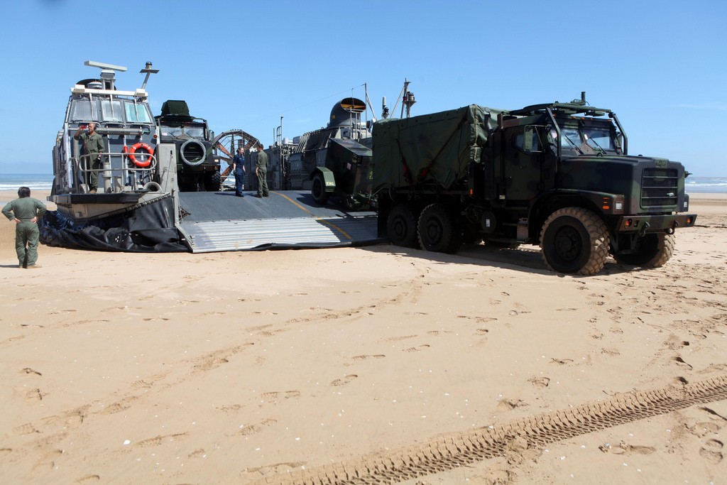 African Lion 2012 - Amphibious Operations Morocc25