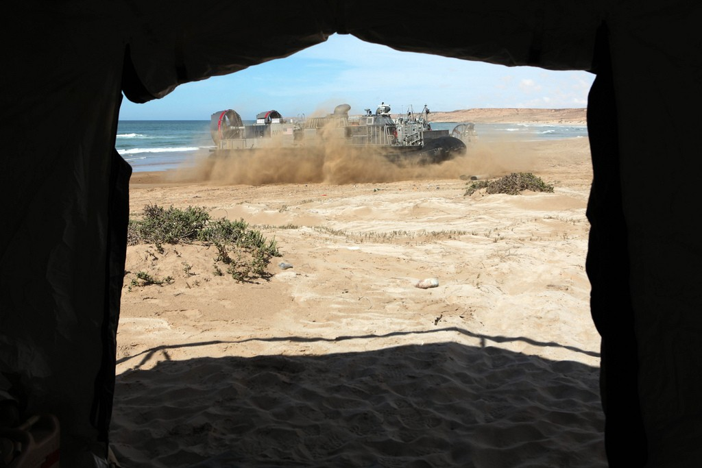 African Lion 2012 - Amphibious Operations Morocc26