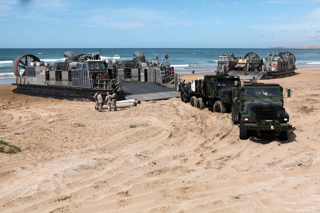 African Lion 2012 - Amphibious Operations Morocc27