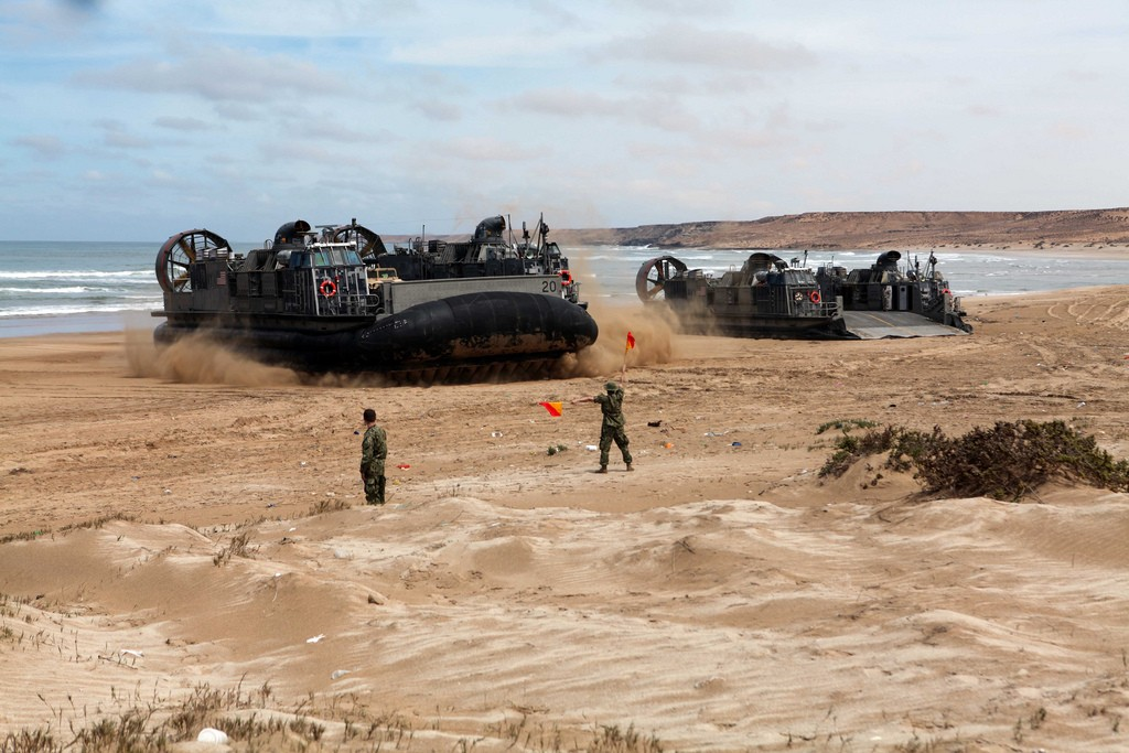 African Lion 2012 - Amphibious Operations Morocc30