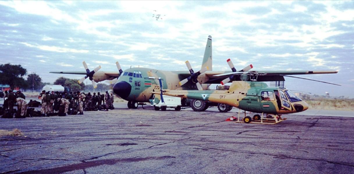 Armée du Botswana/Botswana Defence Force Sans_t43