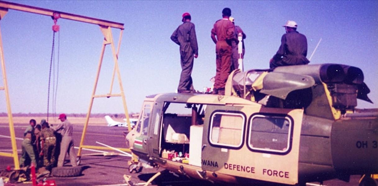 Armée du Botswana/Botswana Defence Force Sans_t46