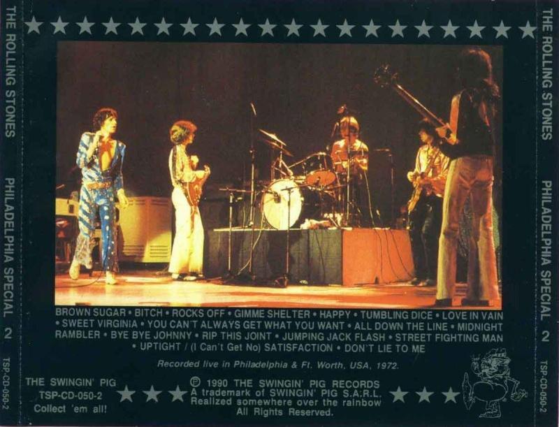 Quels sont les concerts soundboard de la période Mick Taylor ? Philad10