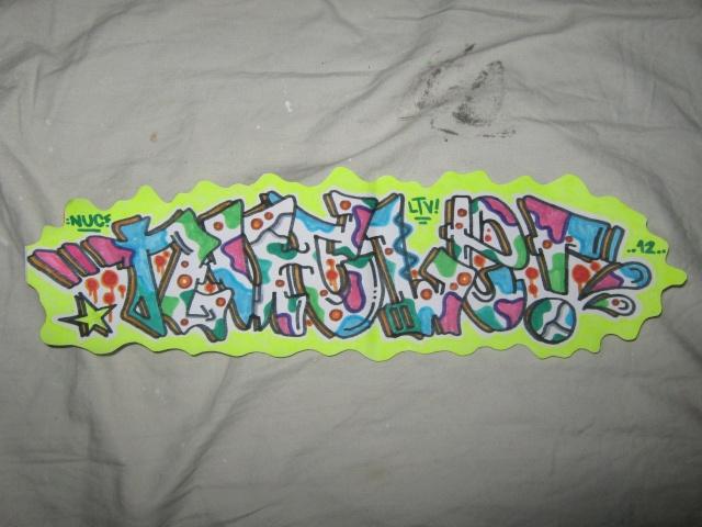 Graffiti topic Sticke11