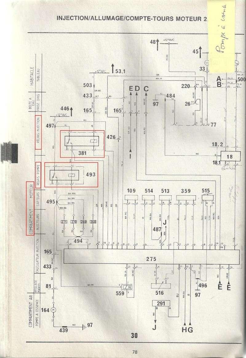Recherche schéma injection R25 TX - Page 2 Numari54