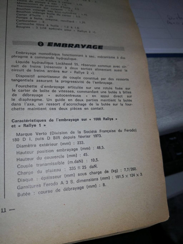 Récepteur embrayage course 16250312