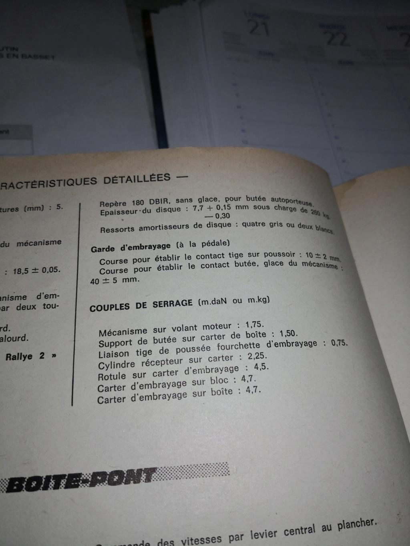 Récepteur embrayage course 16250313