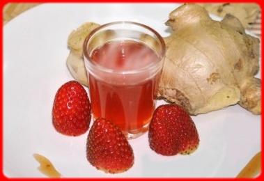 Cachaça chaud épicé aux fraises Sans_t45