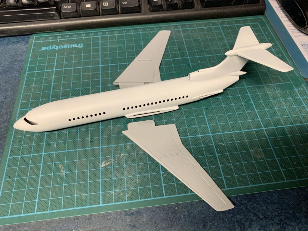 Hawker Siddeley Trident 1C Airfix 1/144 9b7e0e10