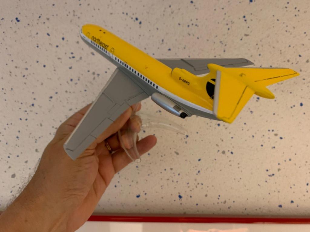Hawker Siddeley Trident 1C Airfix 1/144 Img_4119