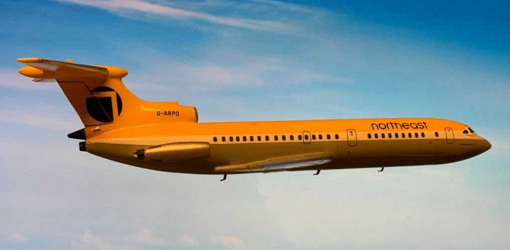 Hawker Siddeley Trident 1C Airfix 1/144 Img_4125
