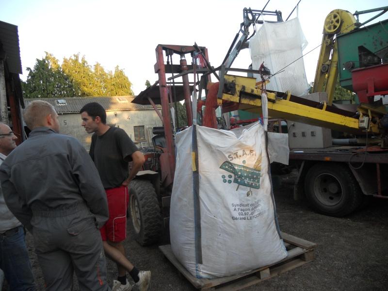 triage et traitement semence blé de ferme  00320