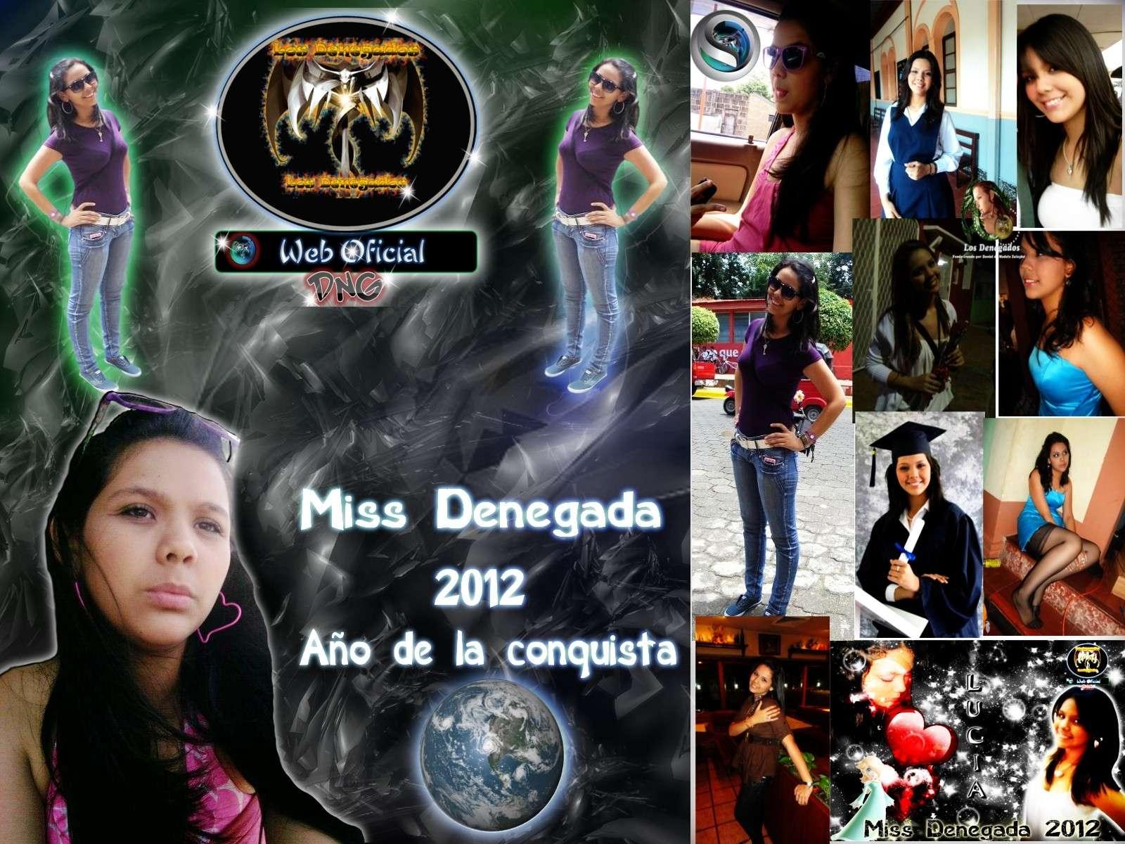 MIss Denegada 2012 Lucia Rosales ,  Año de la Conquista Miss2011