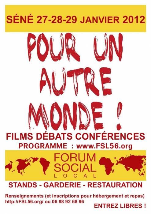Forum social local à Séné  Forum_10