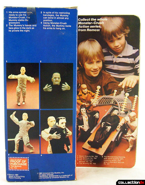 REMCO UNIVERSAL STUDIOS OFFICIAL MONSTERS 210
