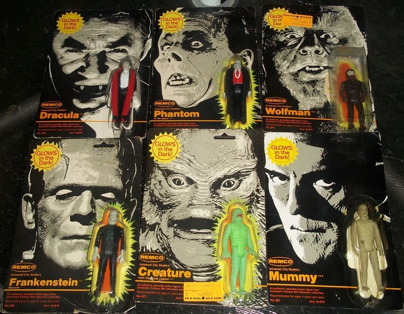 REMCO UNIVERSAL STUDIOS OFFICIAL MONSTERS Kgrhqr11