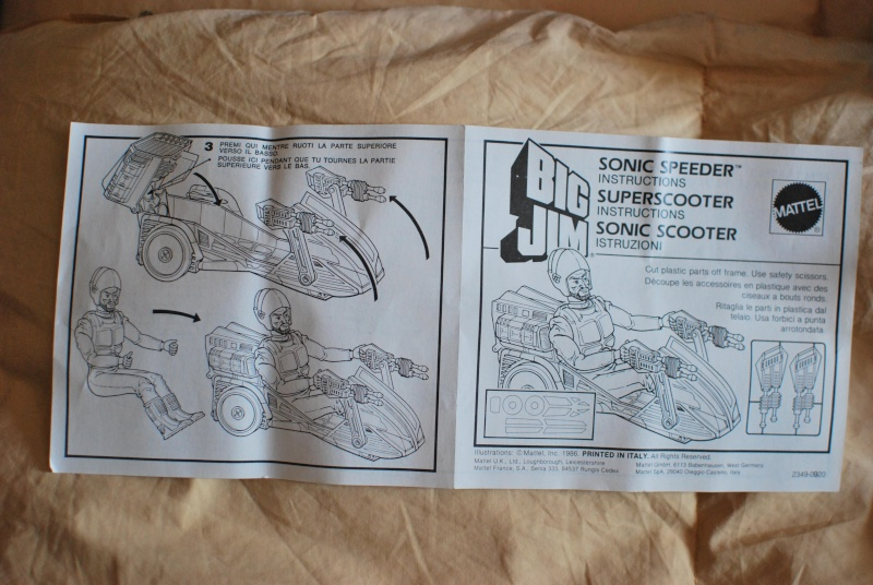 SONIC SCOOTER   N° 2349 Listen30