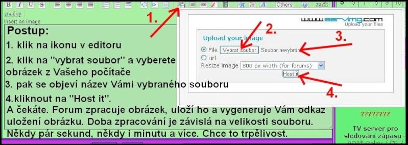Přidání obrázku či fotky do Vašeho příspěvku na foru Navod_11