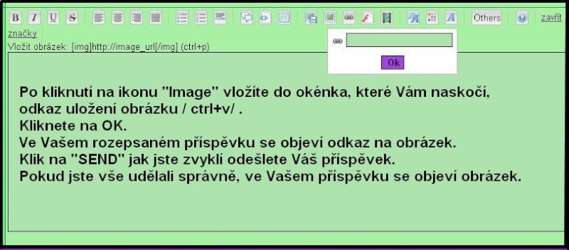Přidání obrázku či fotky do Vašeho příspěvku na foru Navod_13