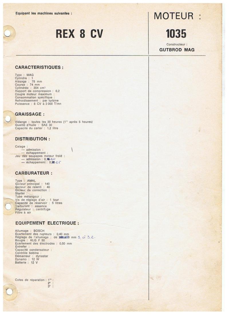 MOTOSTANDARD REX 8 cv 00148
