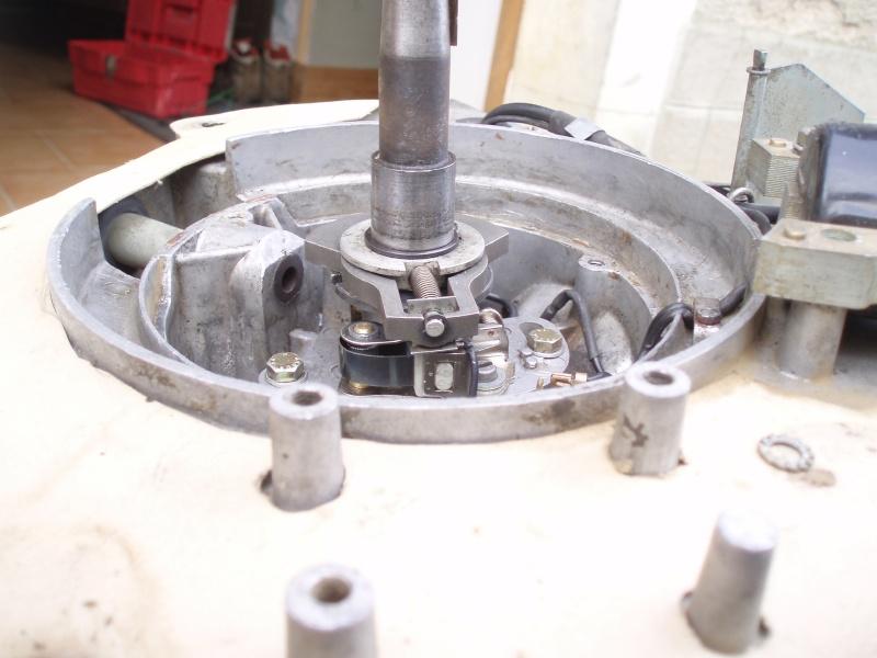 contrôle et réglage de l'allumage T150 Contro11
